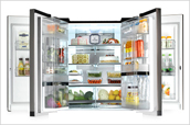 冰箱的蔬菜箱